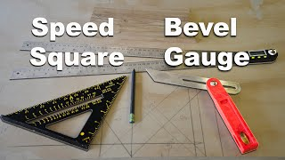 How to Use A Speed Square and Bevel Gauge to Find Angles in Woodworking