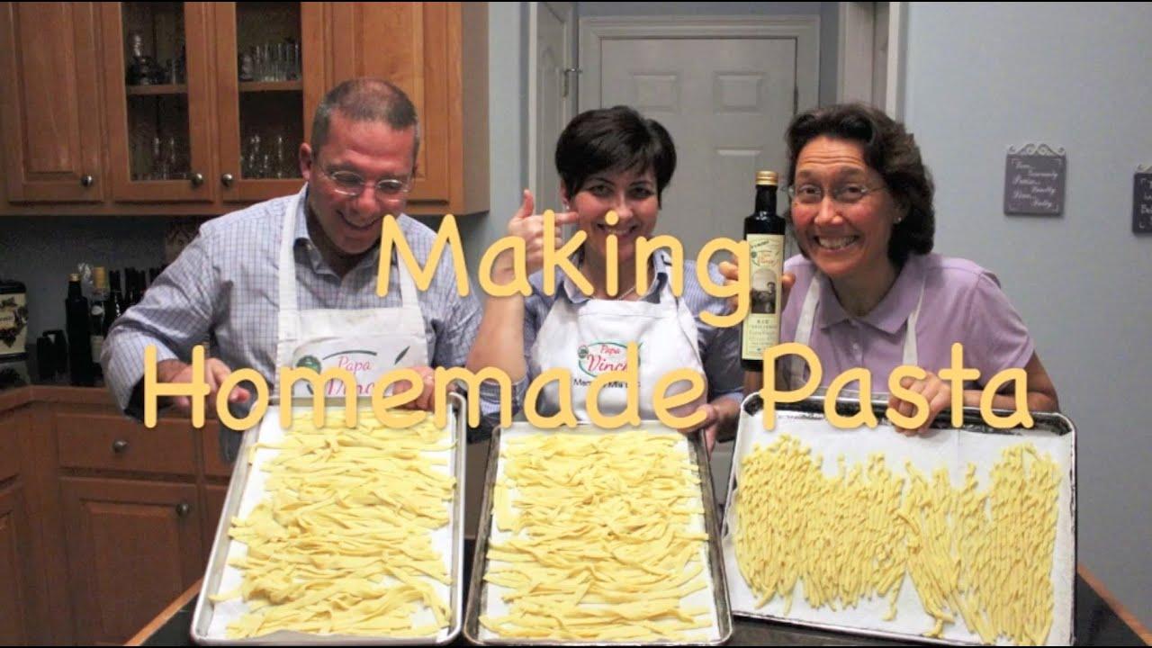 how to make homemade wheat pasta