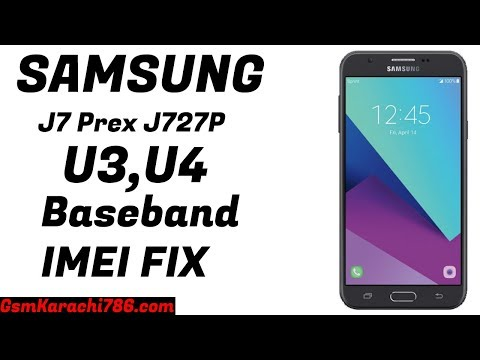 J727P U4 Baseband Unknown Fix Imei Repair |  J727P U3 Baseband Unknown Fix Imei Repair | J727P IMEI