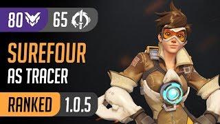C9 Surefour as Tracer reach 65 Elims on Volskaya Industries / Overwatch [PC] High Ranked Gameplay