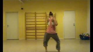 Urban Tribe - Carina Keiko Steiro freestyle to soukous music