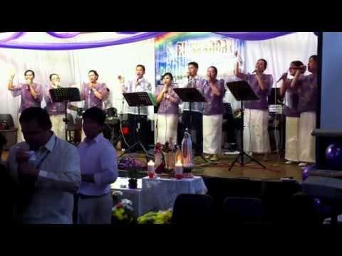 El Shaddai Newcastle 7th Anniversary Come Holy Spirit & Halina Espiritu Santo