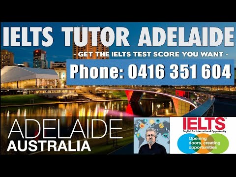 IELTS Tutor Adelaide