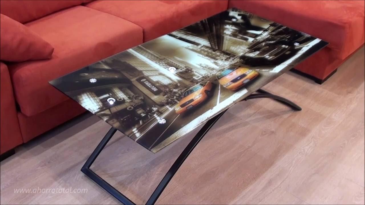 Mesa centro convertible a mesa comedor 8149 - YouTube