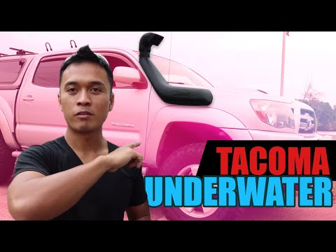 How to install a Snorkel on the Tacoma