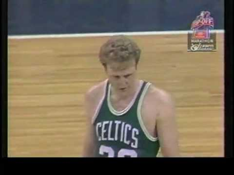 30 years ago Larry Bird scored 60 points in a game. He was so good even the opposing team went nuts when he scored