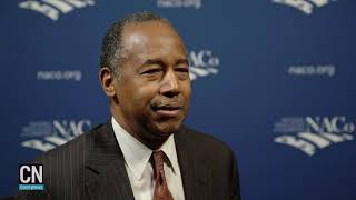 County news sat down with hud sec. ben carson march 5 at the 2019 naco legislative conference in washington, d.c., after he addressed members was...