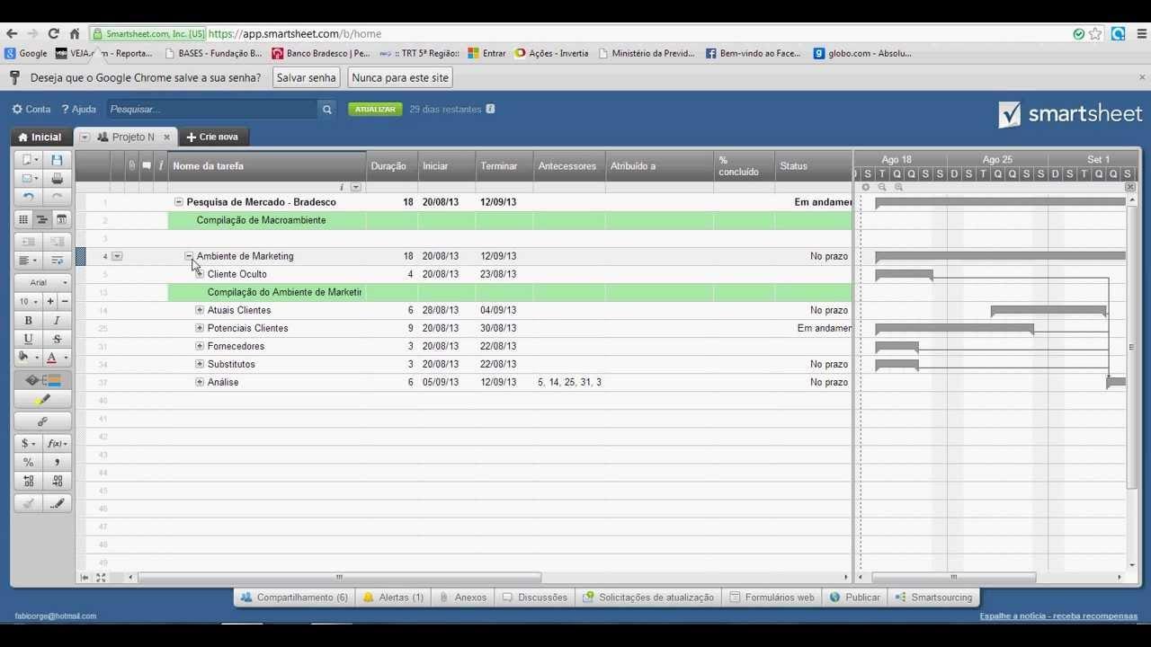 tutorial apresentao smartsheet