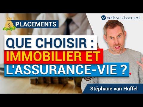 Placements : que choisir en 2018 entre l'immobilier et l'assurance vie ? [Vidéo BFM]