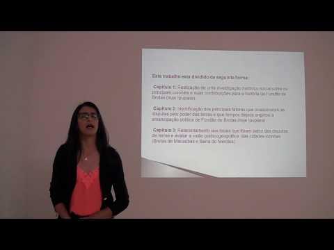 Defesa do TCC Flávia Ribeiro Cunha - Emancipação Política de Ipupiara