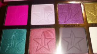 the jeffree star cosmetics skin frost and beauty killer palette