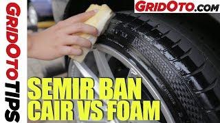 Cara Bikin Ban Mobil Mengilap Seperti Baru | How To | Gridoto Tips