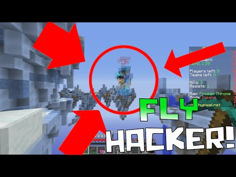 FLY HACKERS ARE TAKING OVER!! ( Minecraft Team Skywars Server w/ PrestonPlayz & TheCampingRusher )