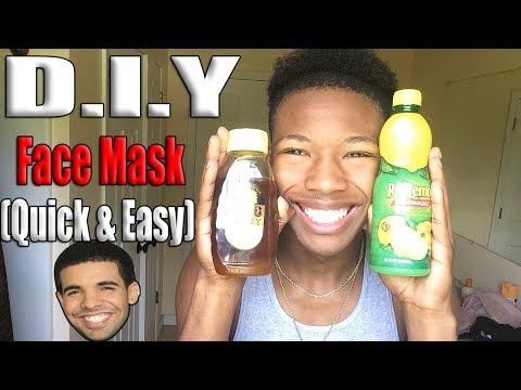 D.I.Y. Face Mask (For N*ggas!) | Honey & Lemon Mask