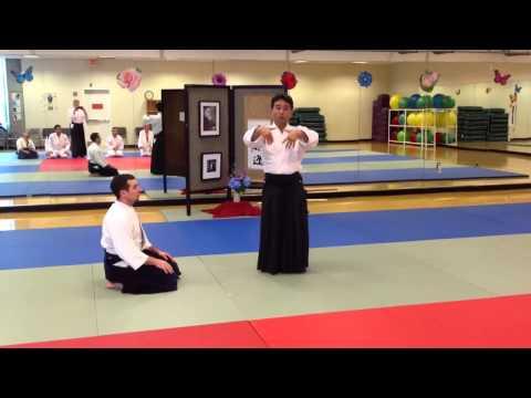 Yoshi Shibata Sensei - Portsmouth Aikido - 8/5/12