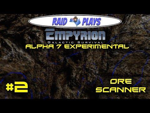 "Let's Play Empyrion Alpha 7 Experimental with RaidzeroAU - #2 - ""Ore Scanner"""