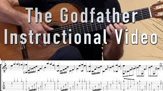 Download The Godfather Guitar Tutorial/Lesson/Instructions with Tabs Mp3 and Videos
