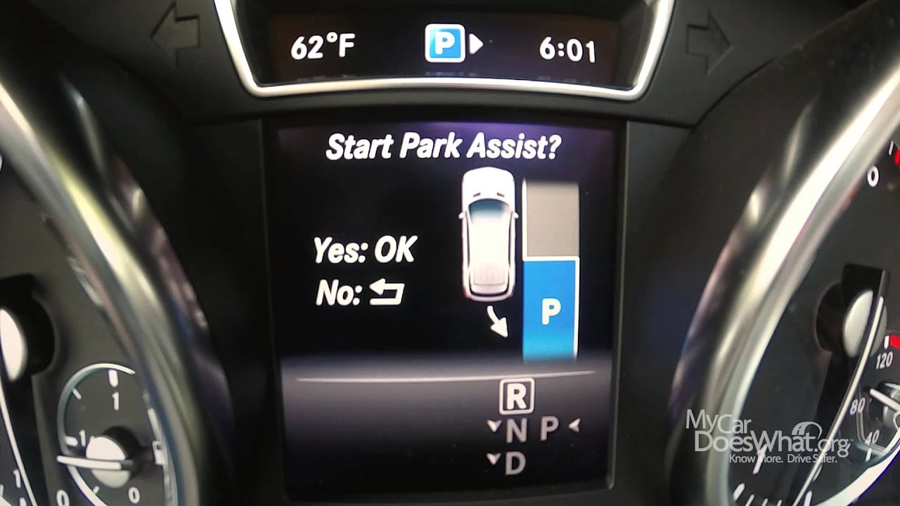 Parking Sensor Feature: My Car Does What on