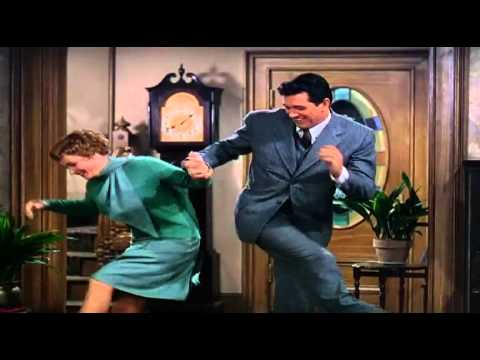 Rock Hudson and Piper Laurie Dance Scene
