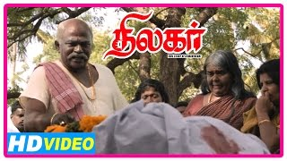 Thilagar Tamil Movie | Scenes | Poo Ram vows to kill Dhruvva | Anumol