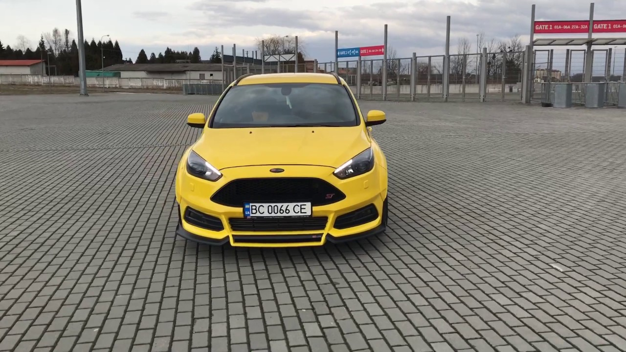 ford focus st estate wagon by ss tuning youtube. Black Bedroom Furniture Sets. Home Design Ideas