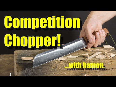 Competition Chopper!  With Hamon!
