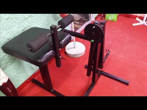 La Mia Leg Extension Machine Fai Da Te Youtube