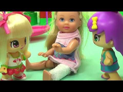 Мультик с игрушками Пинипон и доктор Плюшева