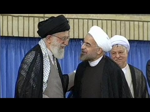 Iran : Hassan Rohani intronisé par le guide suprême