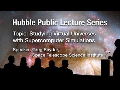 Studying Virtual Universes with Supercomputer Simulations