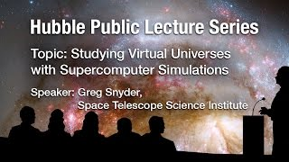 Studying Virtual Universes with Supercomputer Simulations