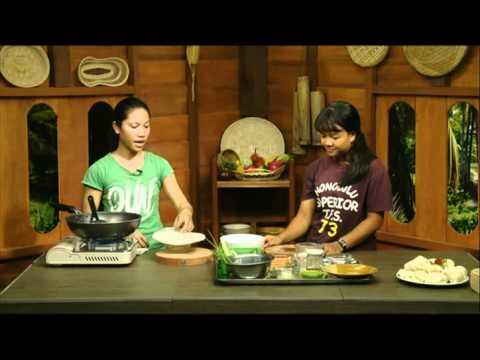 Vegan Khmer Cooking show :Sreya and Neit