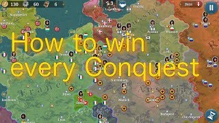 How to win every European War 6 Conquest!