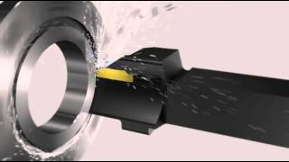 sandvik tips film 38 how to achieve secure face grooving