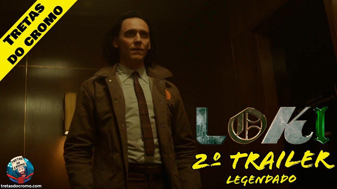 Loki ganha o segundo trailer