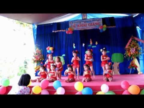 Múa bài Quả bóng (Mầm 2) www.hoahongdo.edu.vn