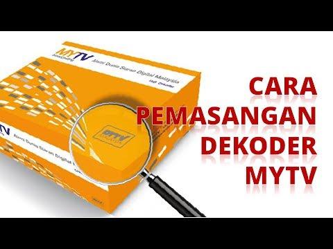 Dekoder MYTV - Langkah demi langkah cara pemasangan