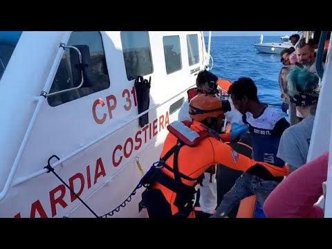 France 24:Open Arms migrant rescue boat rejects Spanish offer of safe haven