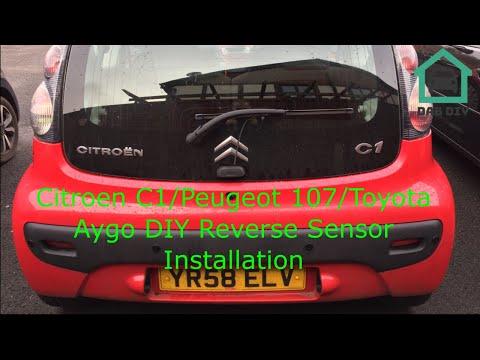 Citroen C1/Peugeot 107/Toyota Aygo DIY Reverse Sensor Kit Installation