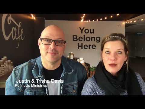 Justin and Trisha Davis at Ginghamsburg