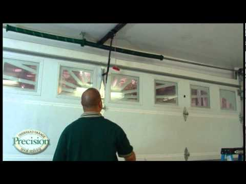 how to manually open a garage doorHow To Open Your Garage Door Manually  YouTube
