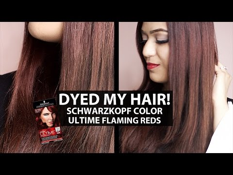 Schwarzkopf Hair Color Reviews Cocoa Red