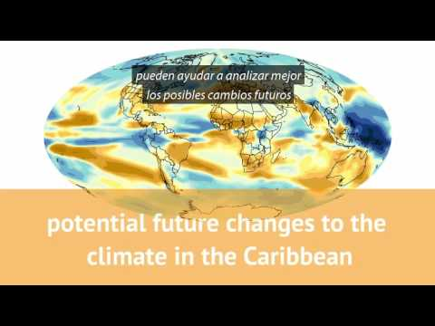 Video: Climate data in the Caribbean (Spanish subtitles)