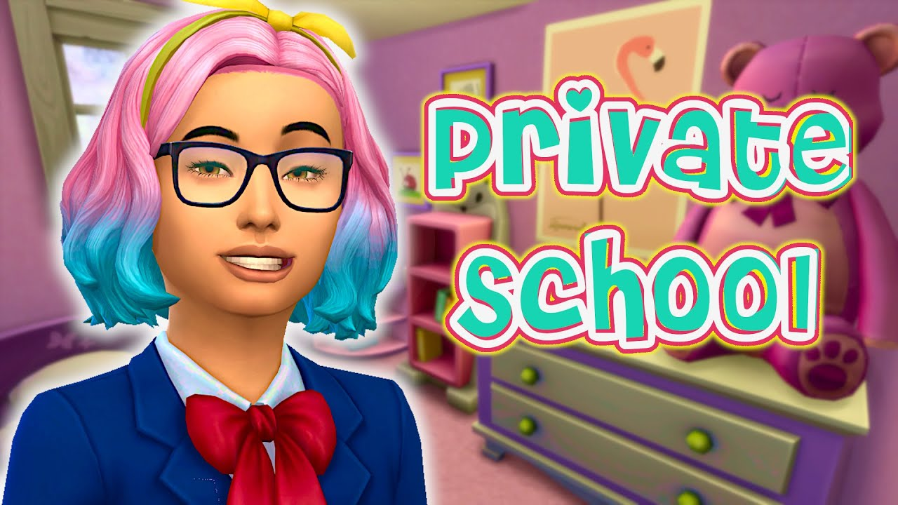 Download Relive the Sims 2 with the Private School mod! // Sims 4 Private school