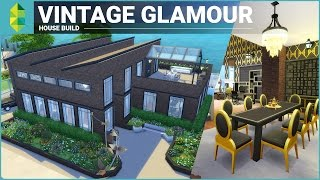 The Sims 4 House Building - Vintage Glamour Stuff Factory