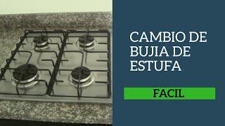 CAMBIO DE BUJÍA ESTUFA A GAS como cambiar el chispero de la estufa