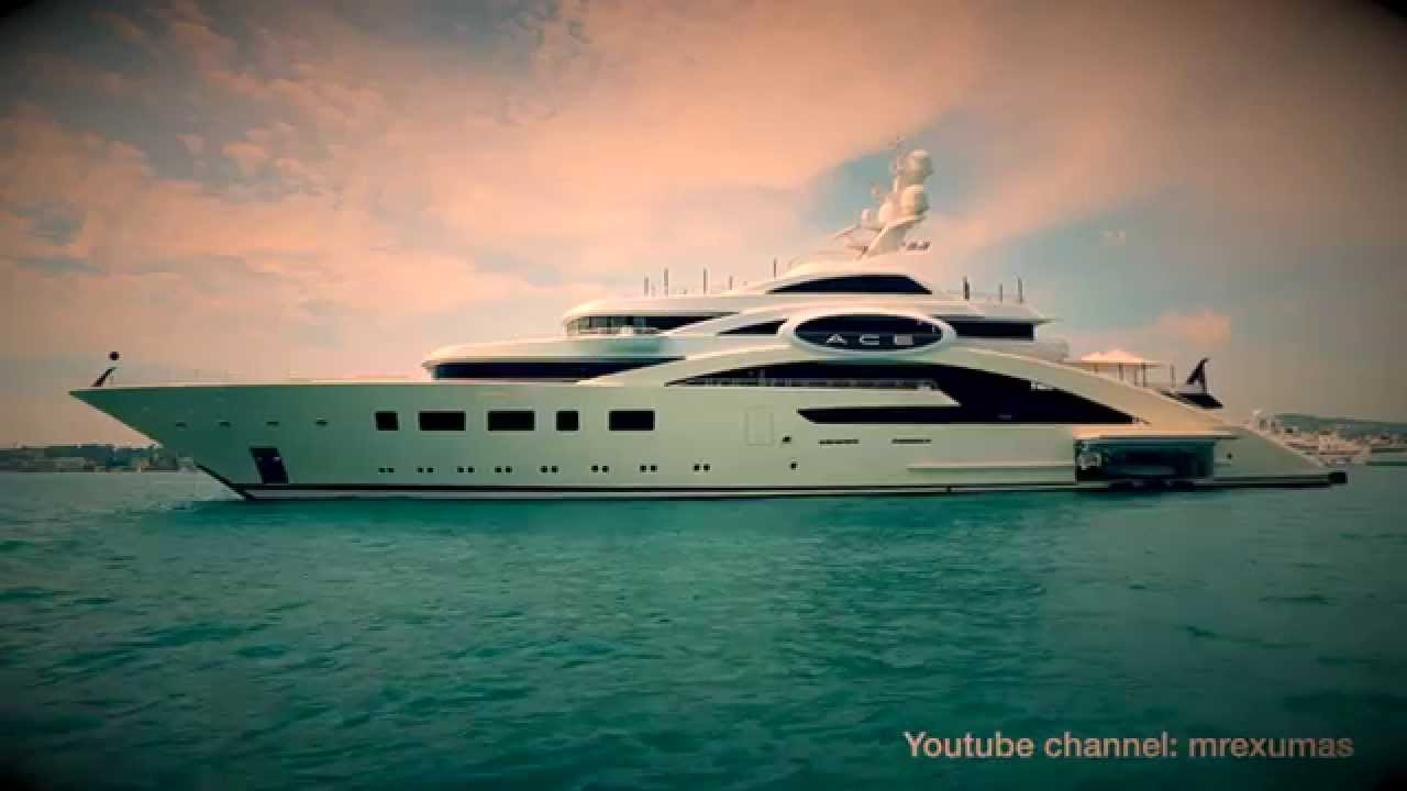 Superyacht ACE Lurssen Yachts YouTube