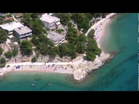 Brela - aerial video panorama 2012.