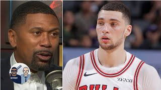 Zach LaVine won't be well-rounded only shooting 3s and layups - Jalen Rose | Jalen & Jacoby