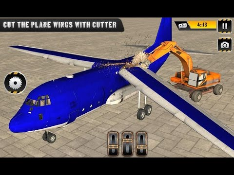 Plane Demolish Crusher Crane (By SummitGames) Android Gameplay HD